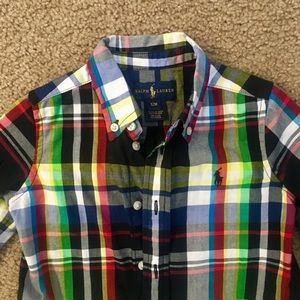 Ralph Lauren Shirts & Tops - Ralph Lauren Plaid Button Down shirt.